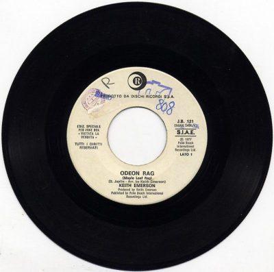 Keith Emerson / I Ribelli - Odeon Rag / Illusione
