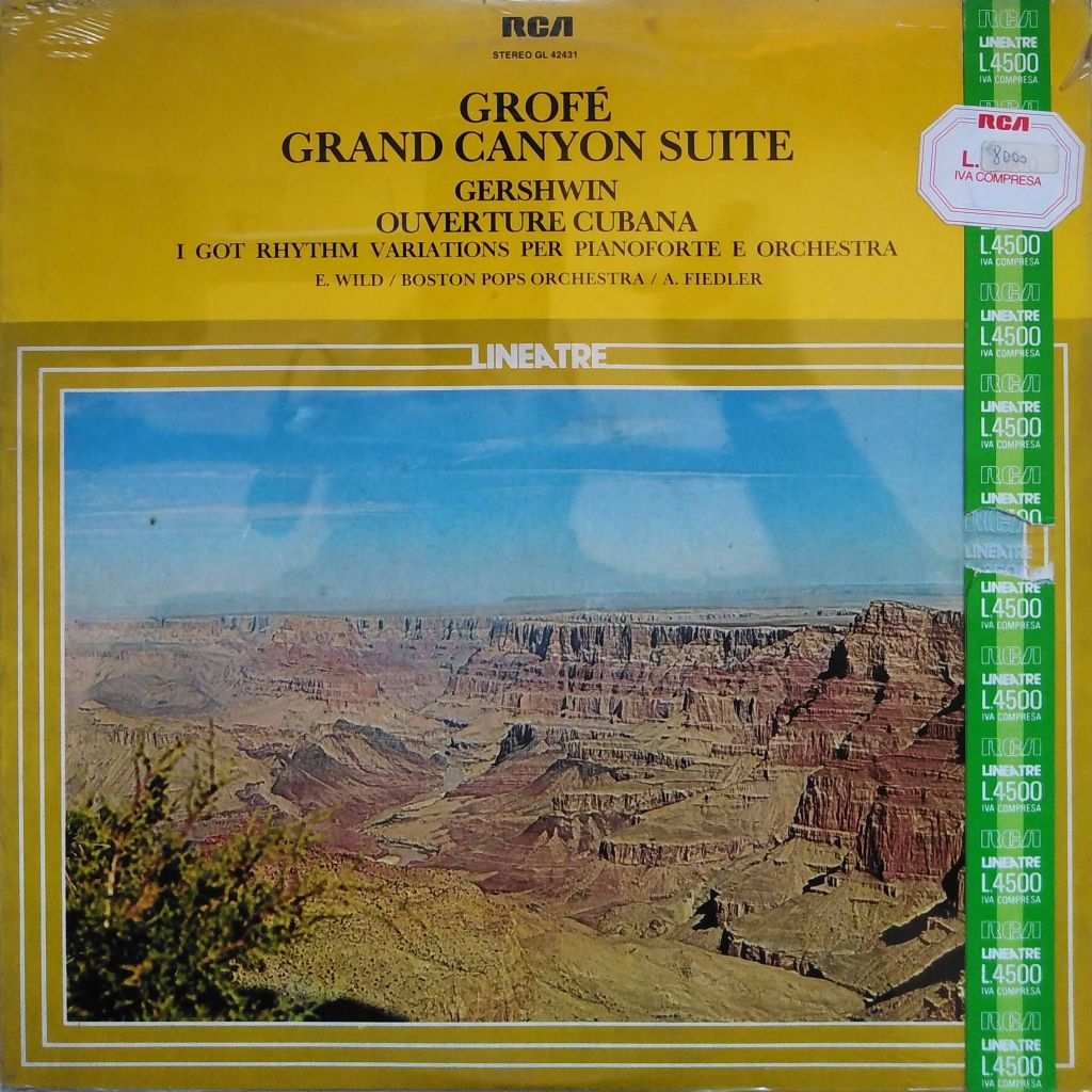 Ferde Grofé / George Gershwin - Grand Canyon Suite / Ouverture Cubana
