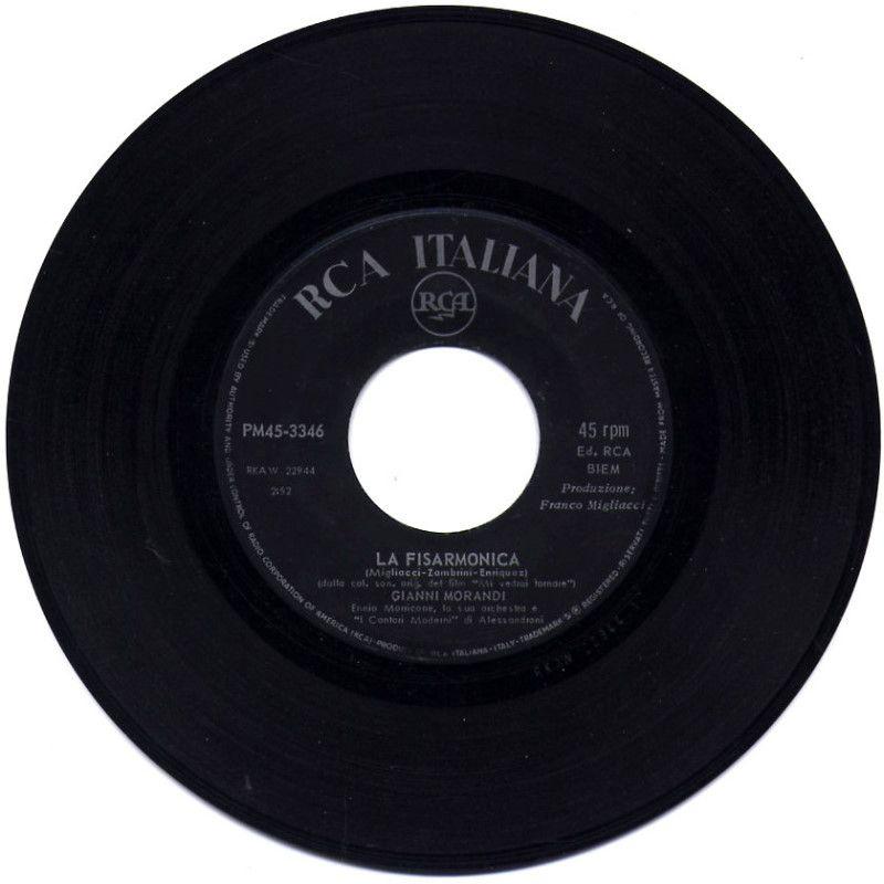 Gianni Morandi - La fisarmonica / Mi vedrai tornare