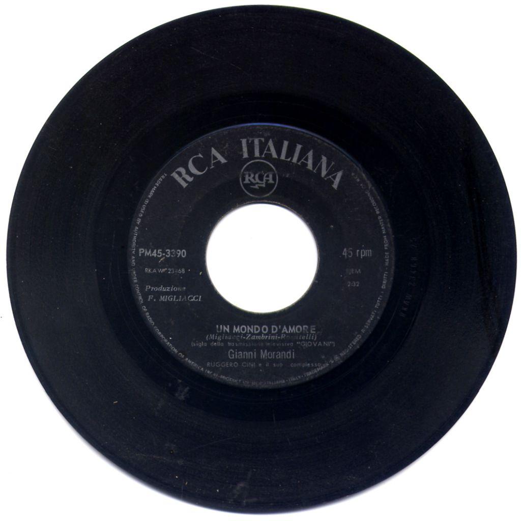 Gianni Morandi - Un mondo d'amore / Questa vita cambierà