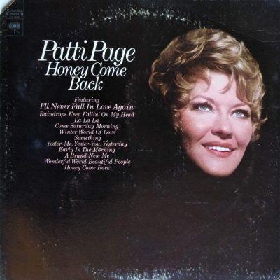 Patti Page - Honey come back