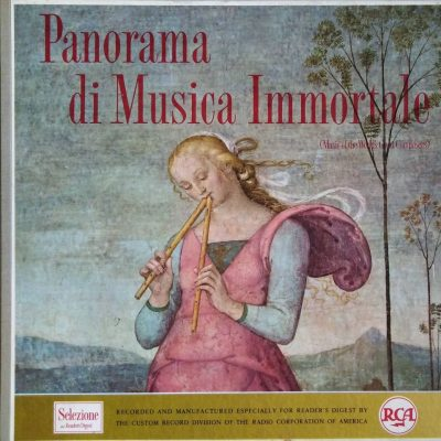 Panorama di musica immortale / Music of the World's Great Composers (Box 12 LP)