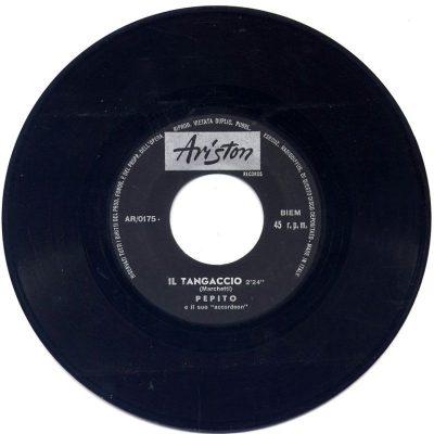 Pepito - Il tangaccio / Melodico tango