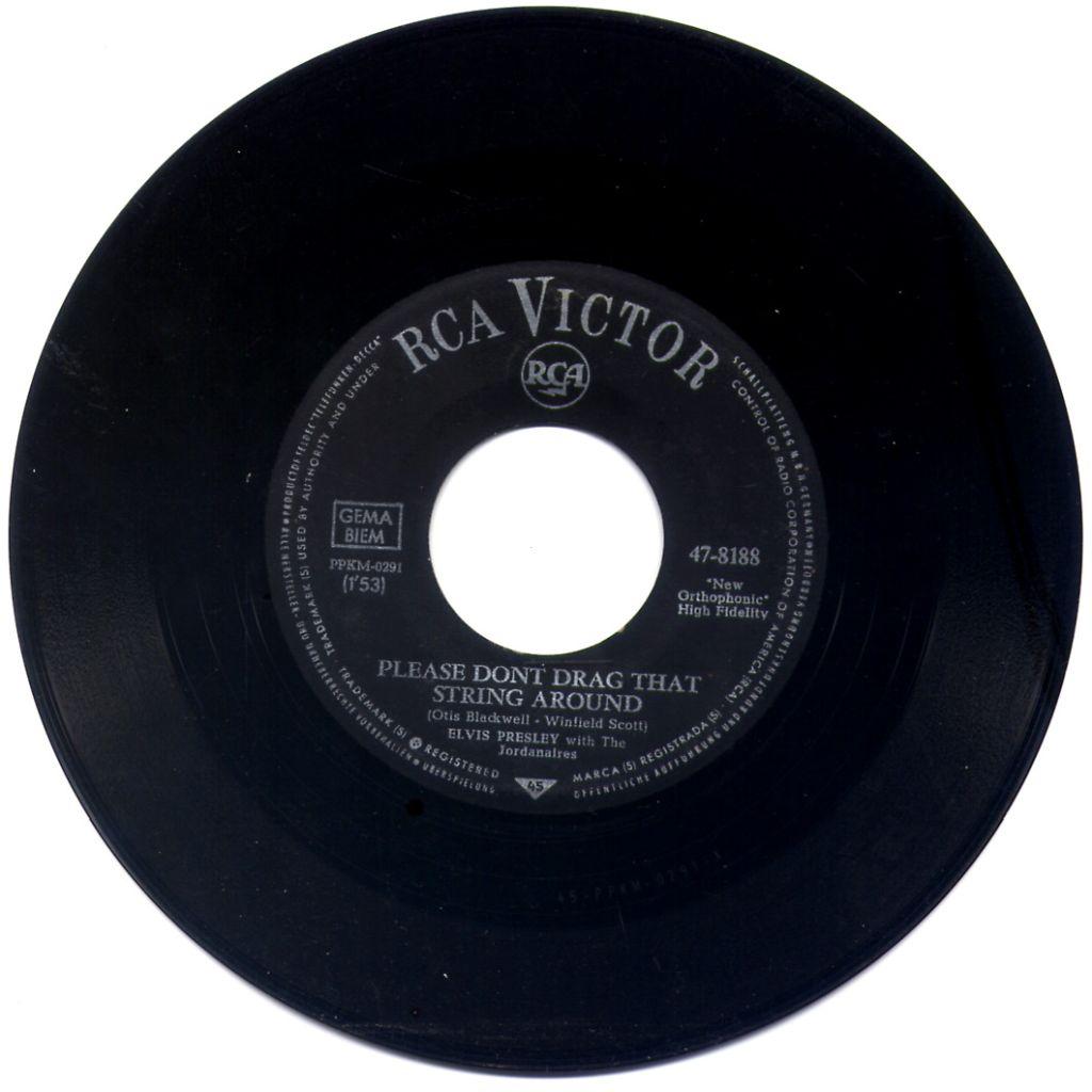 Elvis Presley - Please Don't Drag That String Around