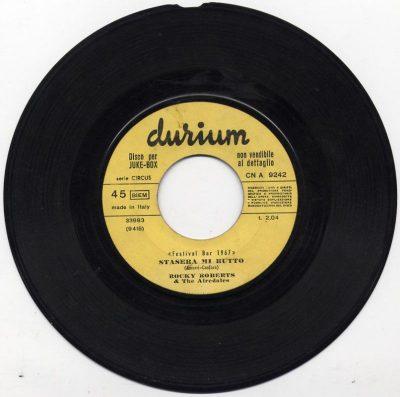 Rocky Roberts & The Airedales / Lino Alfieri - Stasera mi butto / Fammi un sorriso