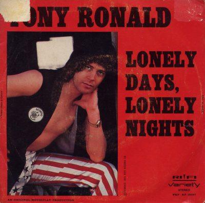 Tony Ronald - Lonely lady