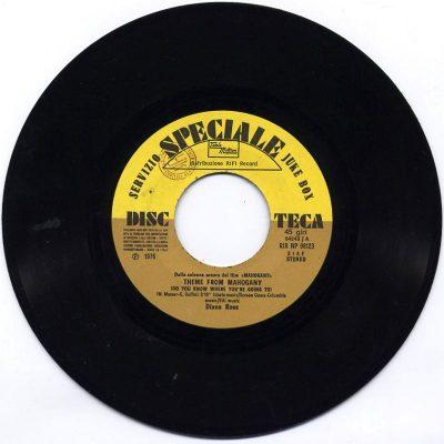 Diana Ross / David Ruffin - Theme from Mahogany / Walk away from love