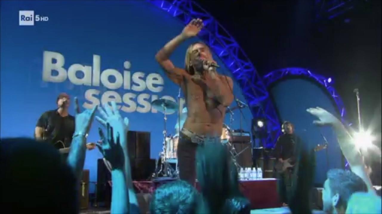 Iggy Pop Live - Baloise Session 2015 su Rai5