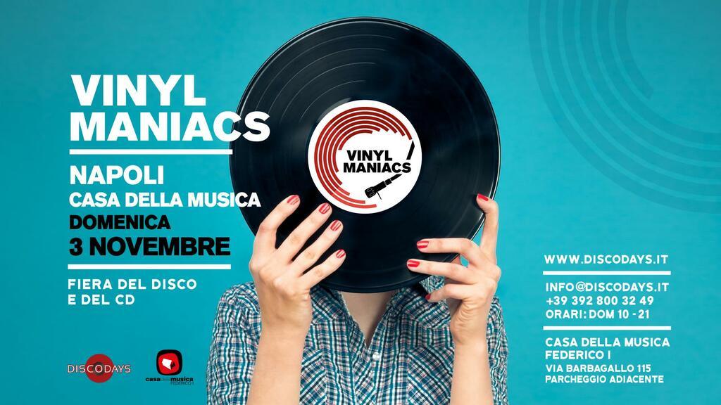 Vinyl Maniacs - Fiera del Disco e del Cd