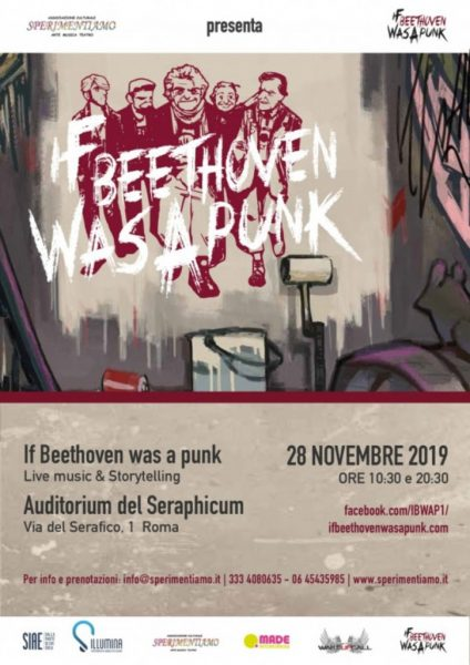 "Spettacolo: ""If Beethoven was a Punk"""