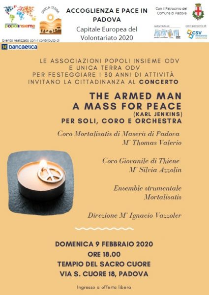 """The armed man - A mass for peace"". Concerto per soli, coro e orchestra"