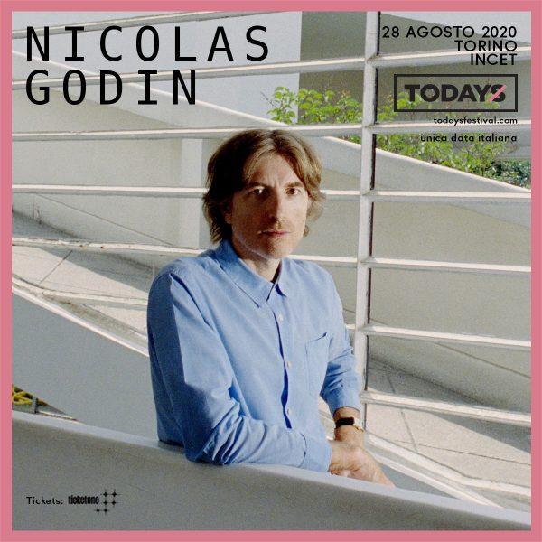 Nicolas Godin (Air) - Todays festival (Biglietti)