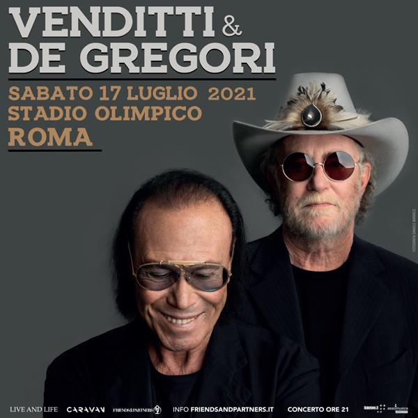 Antonello Venditti e Francesco De Gregori in Concerto (Biglietti)