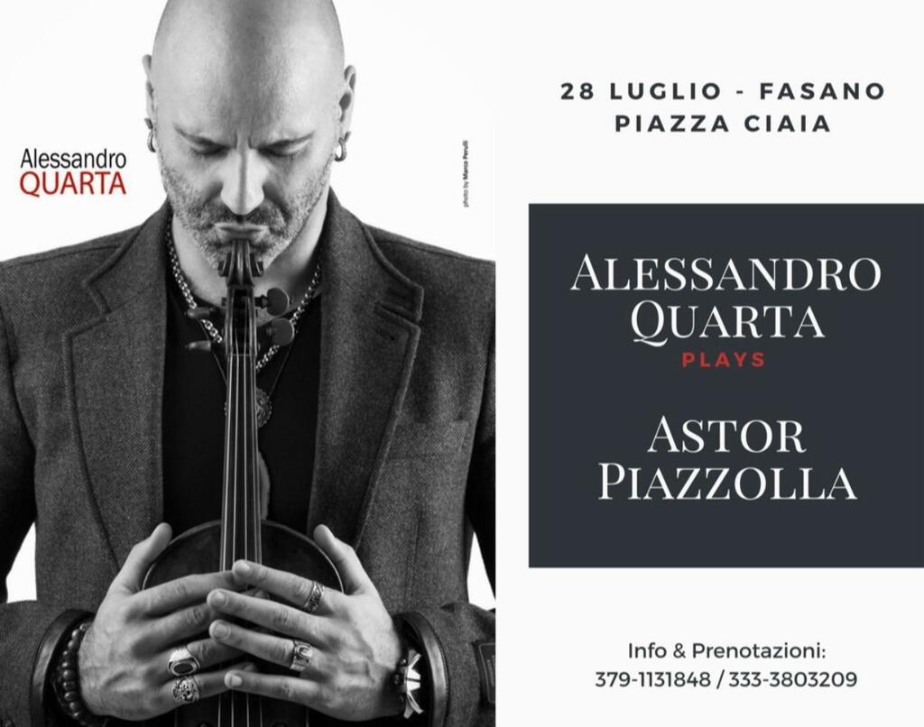 Alessandro Quarta plays Astor Piazzolla