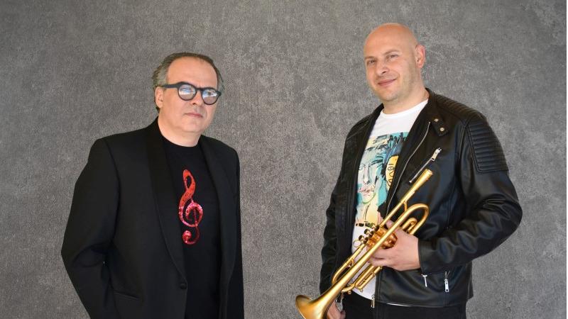 """La versione strumentale di """"Sally"""" del duo jazz Marco Vezzoso e Alessandro Collina"""