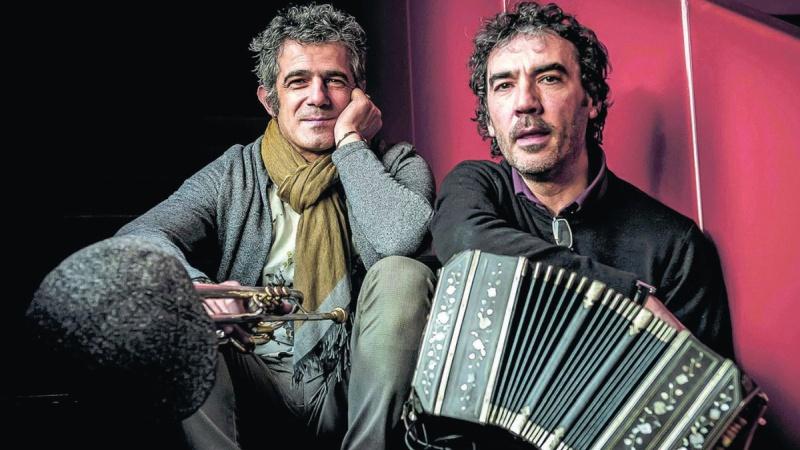 Paolo Fresu & Daniele Di Bonaventura live al Castello Festival