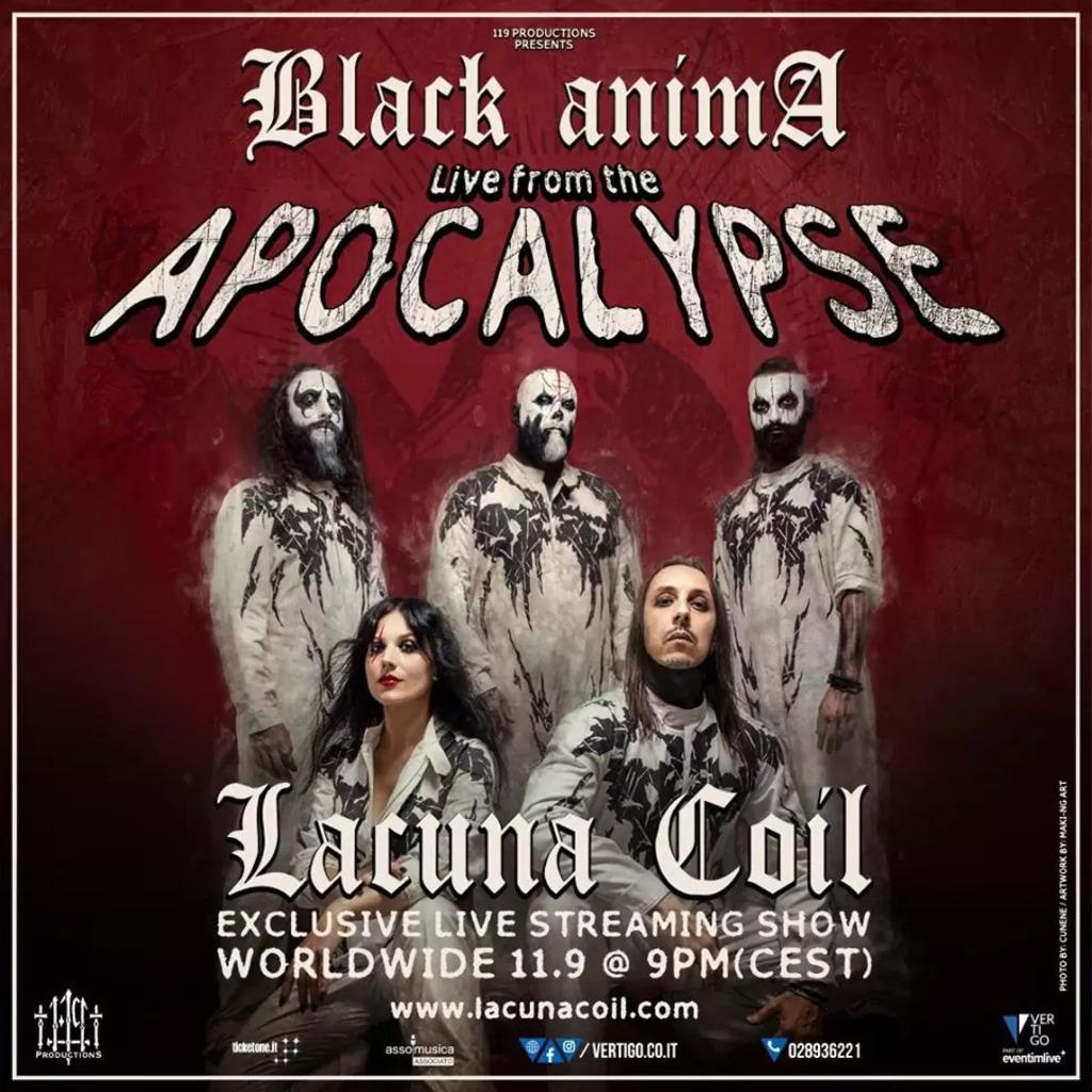 Lacuna Coil. Black Anima: Live from the Apocalypse (Biglietti)