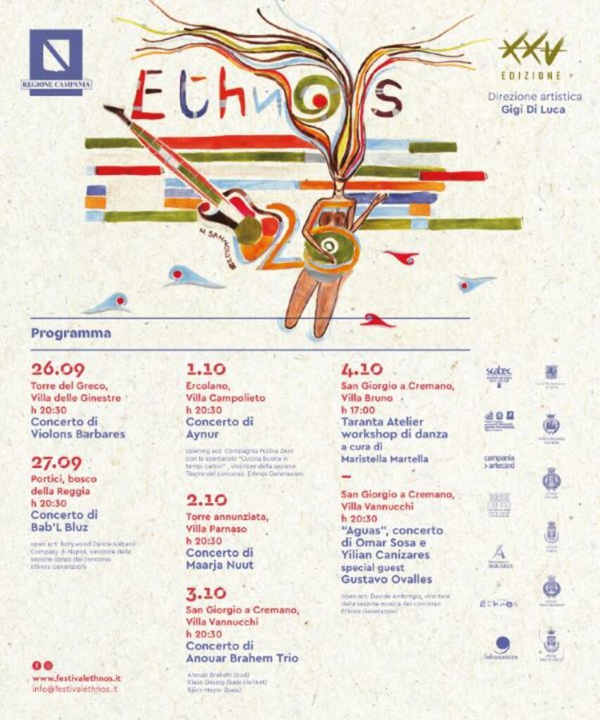 Ethnos 25. Festival internazionale della Musica Etnica - XXV edizione