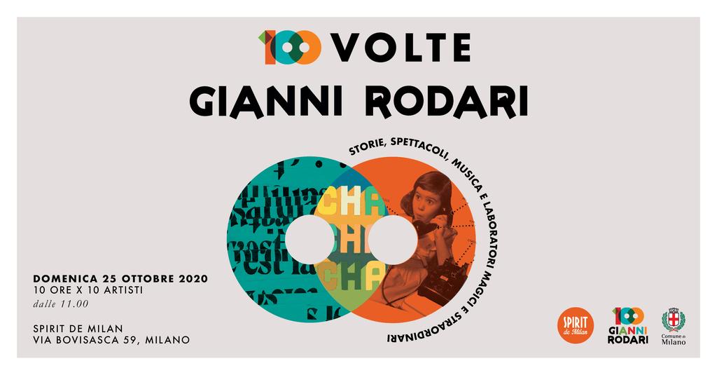 10 artisti, 100 storie per i 100 anni di Gianni Rodari