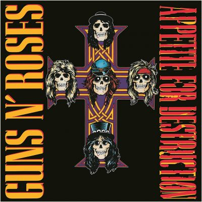 Guns N' Roses - Appetite for destruction (2 LP)