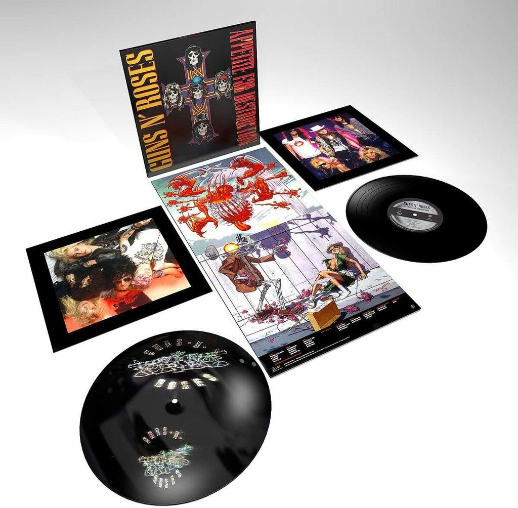 Guns N' Roses - Appetite for destruction (2 LP)