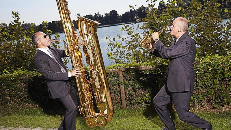 The giant is back! Al Museo del Saxofono il concerto del sax gigante