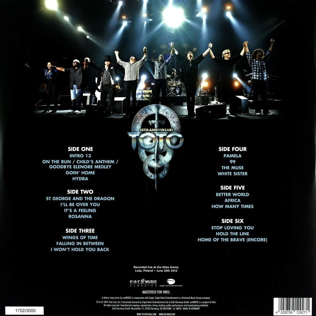 Toto - 35Th Anniversary Tour Live In Poland (Lp + Cd Limited Edt.)