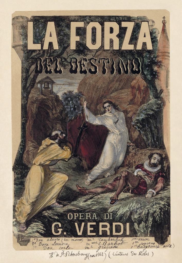 """""""La forza del destino""""- Opera  in quattro atti di Giuseppe Verdi"""
