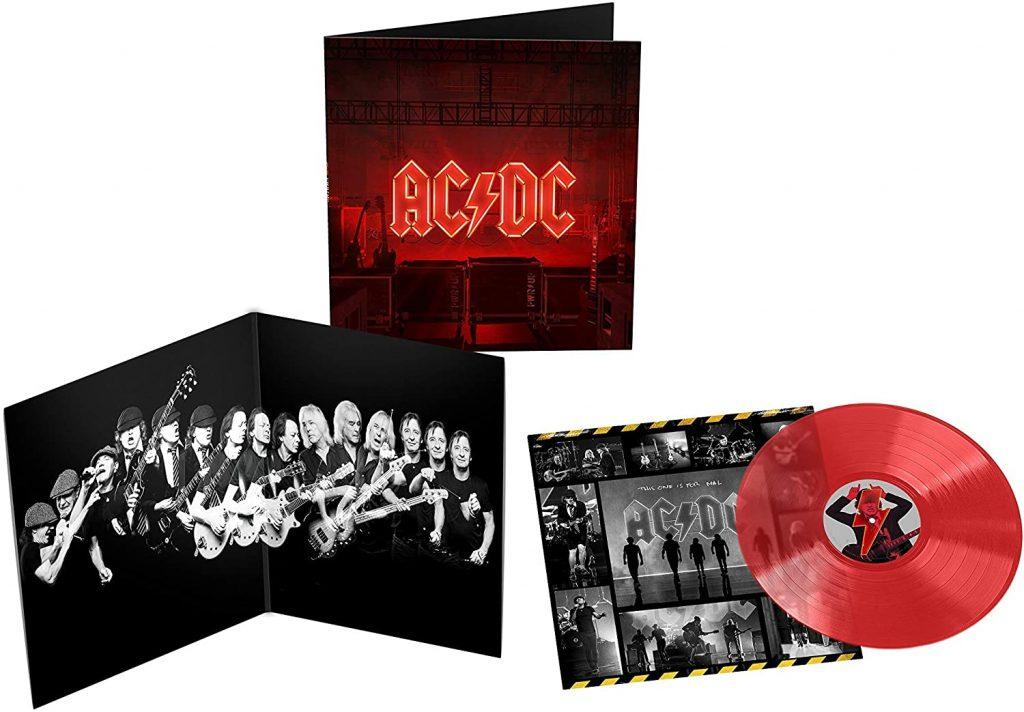 AC/DC - Power Up -  Translucent Red Vinyl