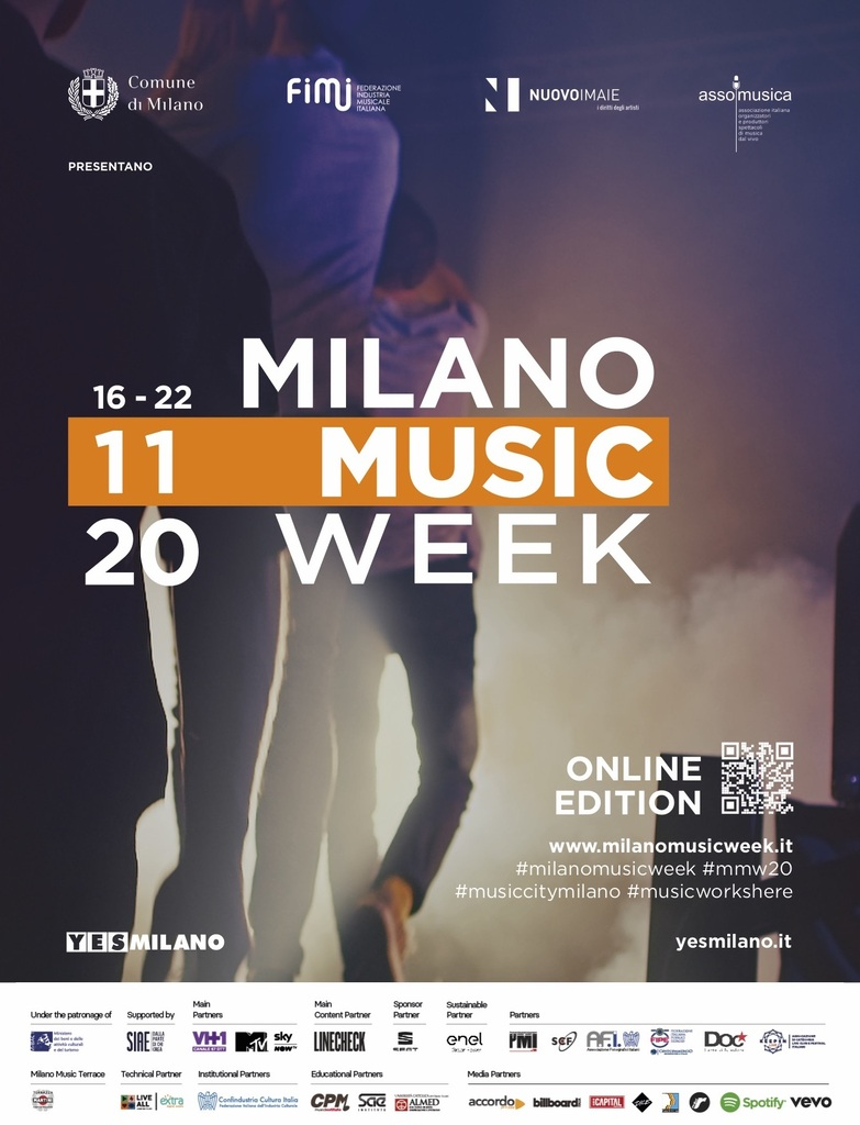 "Milano Music Week 2020: ""Music works here"""
