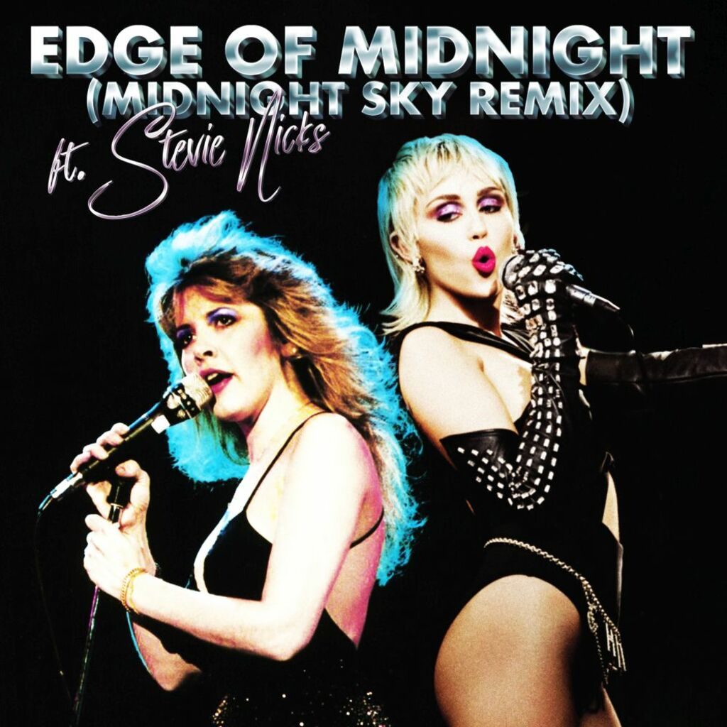 "Miley Cyrus e Stevie Nicks insieme per il remix di ""Mydnight Sky"""