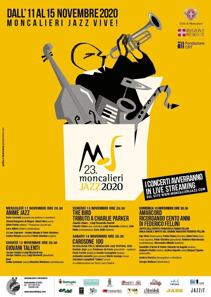 Moncalieri Jazz 2020 - 23a edizione