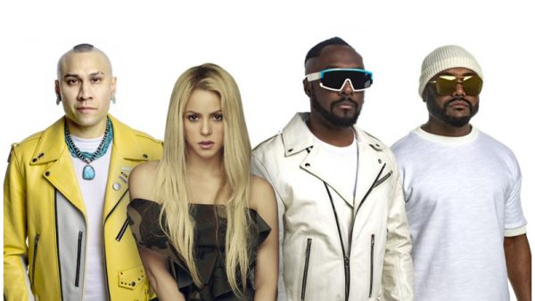 "Black Eyed Peas e Shakira insieme per la prima volta nel singolo ""Girl like me"""
