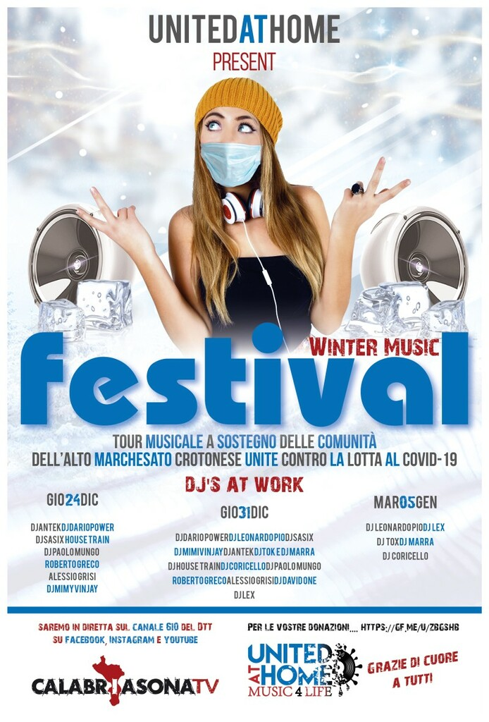 Winter Music Festival: United at home - Music for life