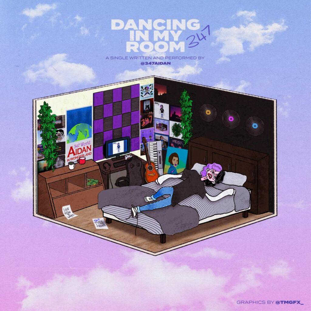 """Da venerdì 15 gennaio in radio """"Dancing in my room"""": il nuovo singolo di 347aidan"""
