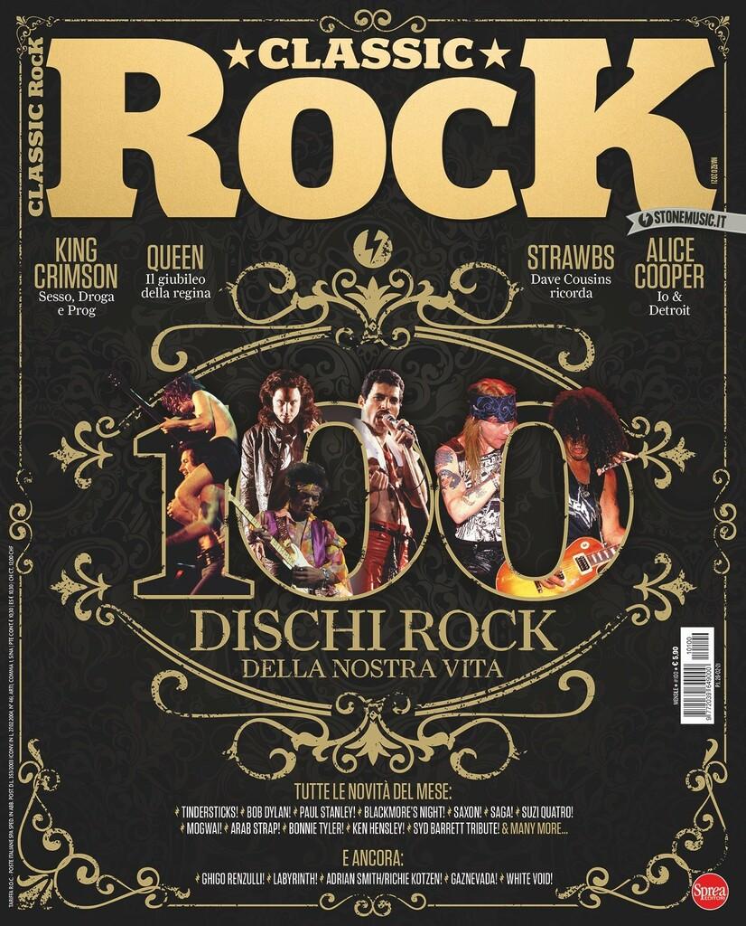 Il mensile Classic Rock festeggia i suoi primi 100 numeri