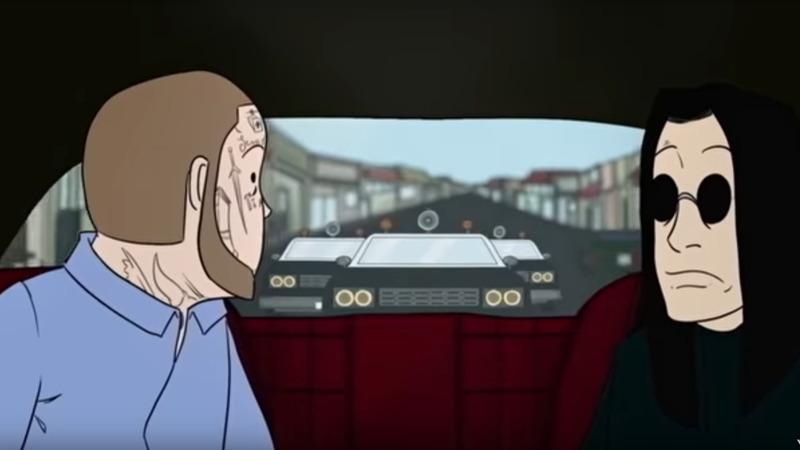 """Ozzy Osbourne: è online il video animato di """"It's a Ride"""" feat. Post Malone"""