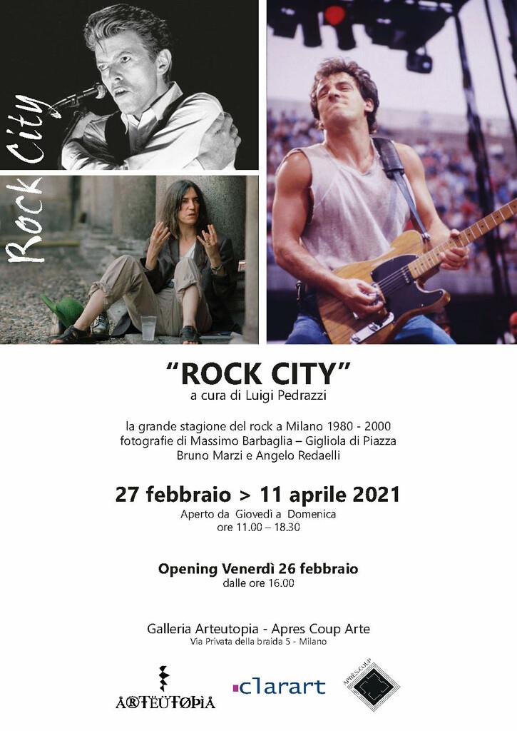 Rock City. La grande stagione del Rock a Milano 1980-2000 in mostra
