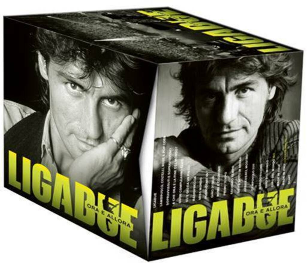 """""""Ora e allora"""": la discografia completa di Ligabue in un cofanetto da collezione"""