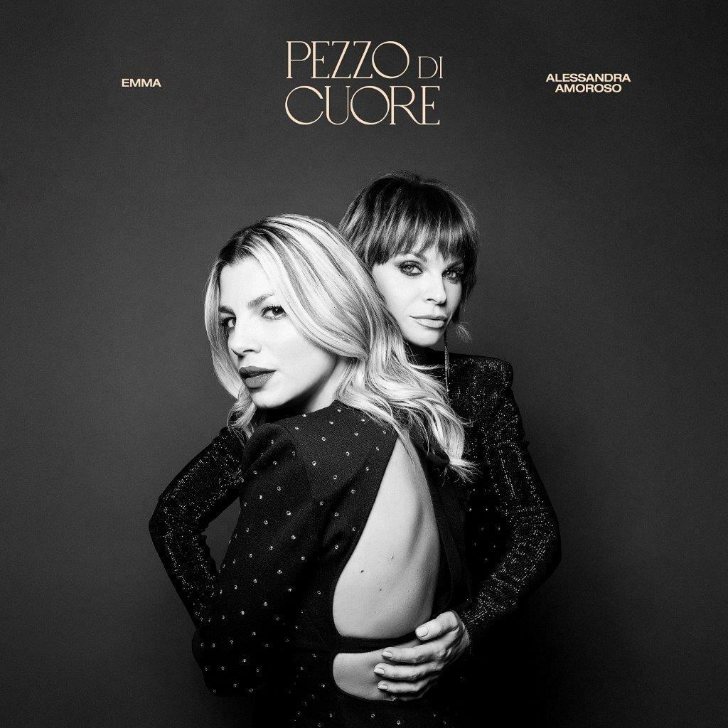 """""""Pezzo di cuore"""" di Emma e Alessandra Amoroso è stato certificato Oro"""