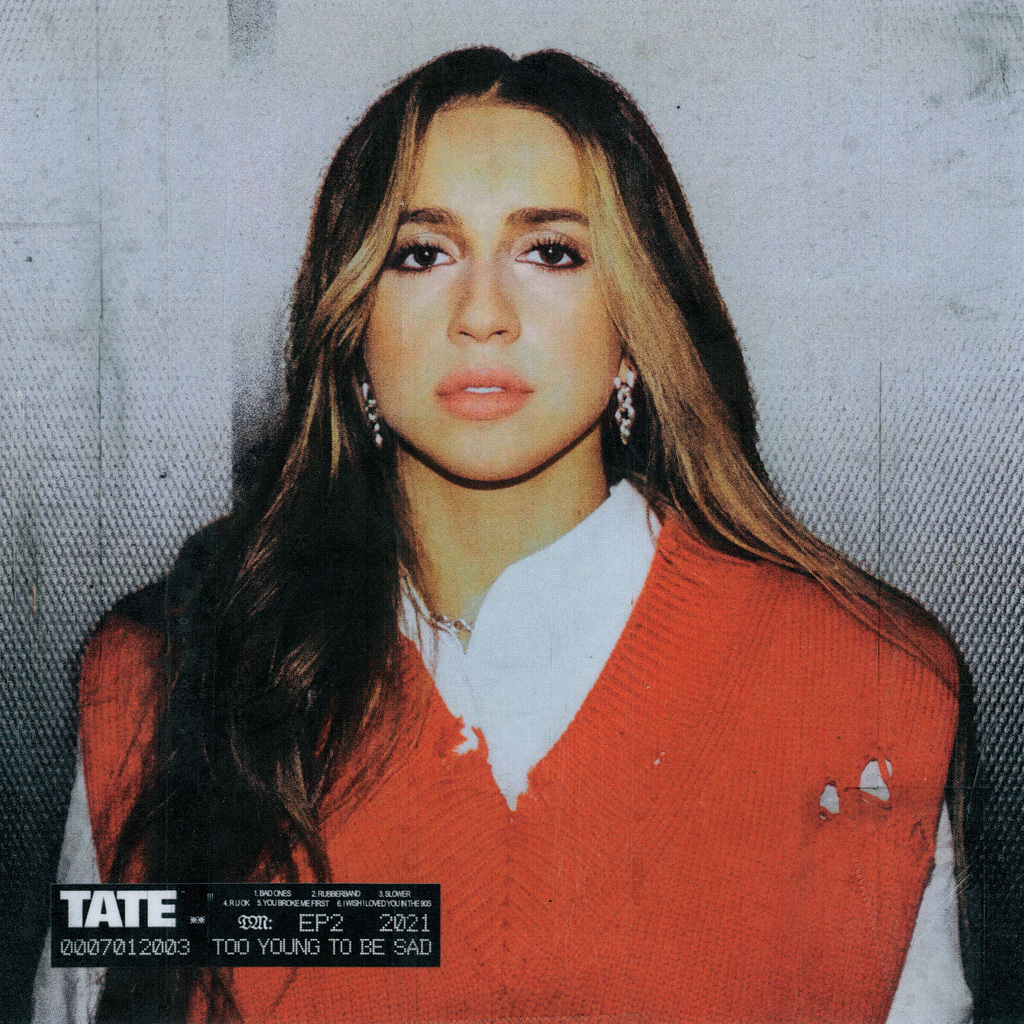 """Tate McRae pubblica l'EP: """"Too young to be sad"""""""