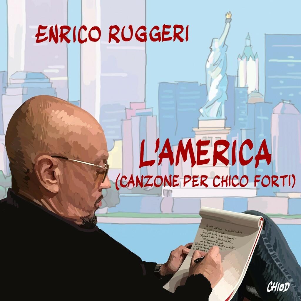 """Enrico Ruggeri in radio e in digitale con il brano inedito """"L'America (Canzone per Chico Forti)"""""""