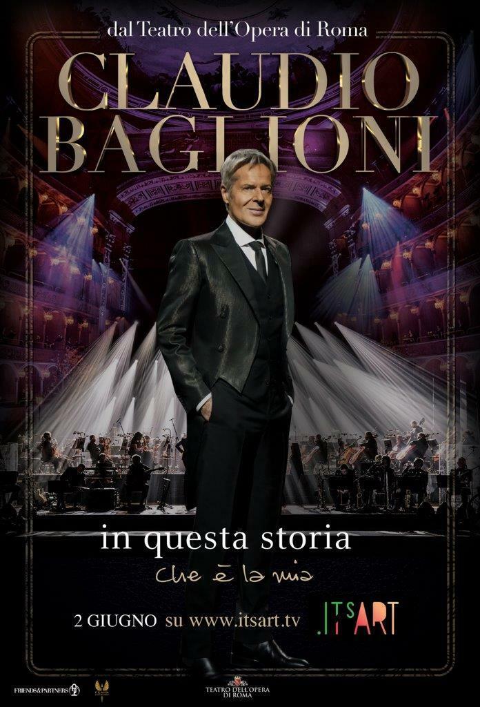 Claudio Baglioni - In questa storia che è la mia (Live Streaming)