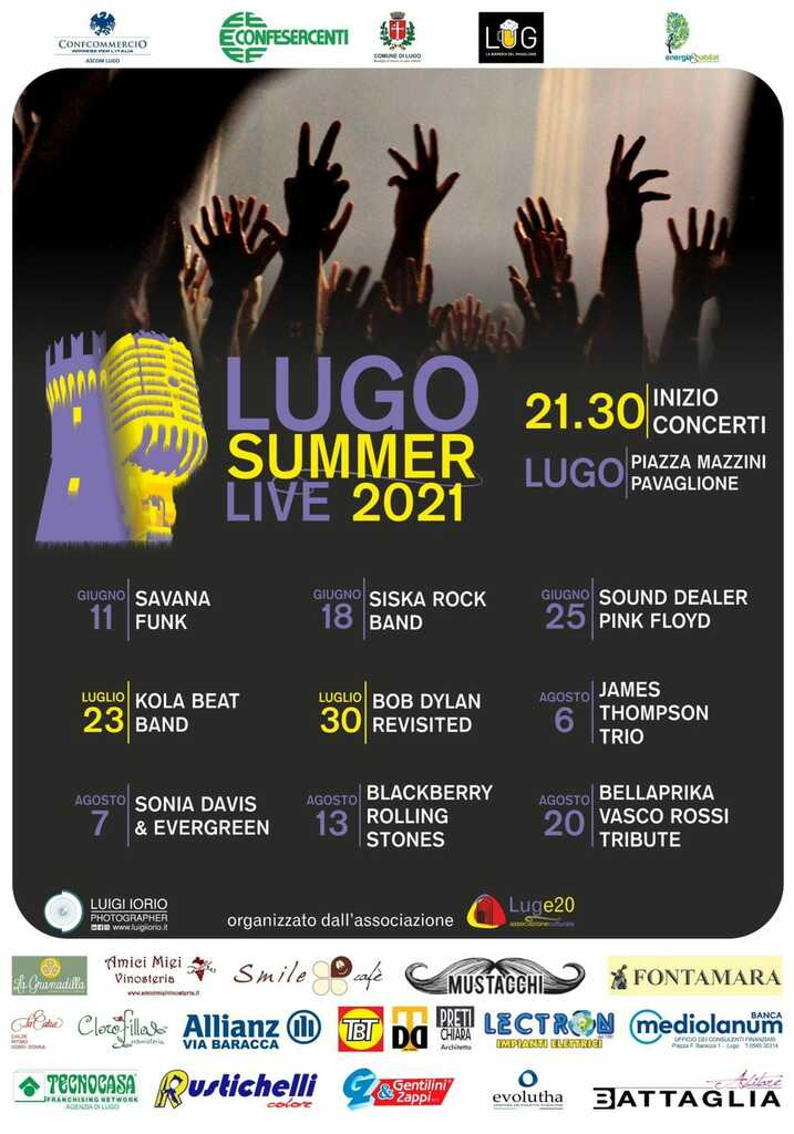 Siska Hard Rock band al Lugo Summer Festival
