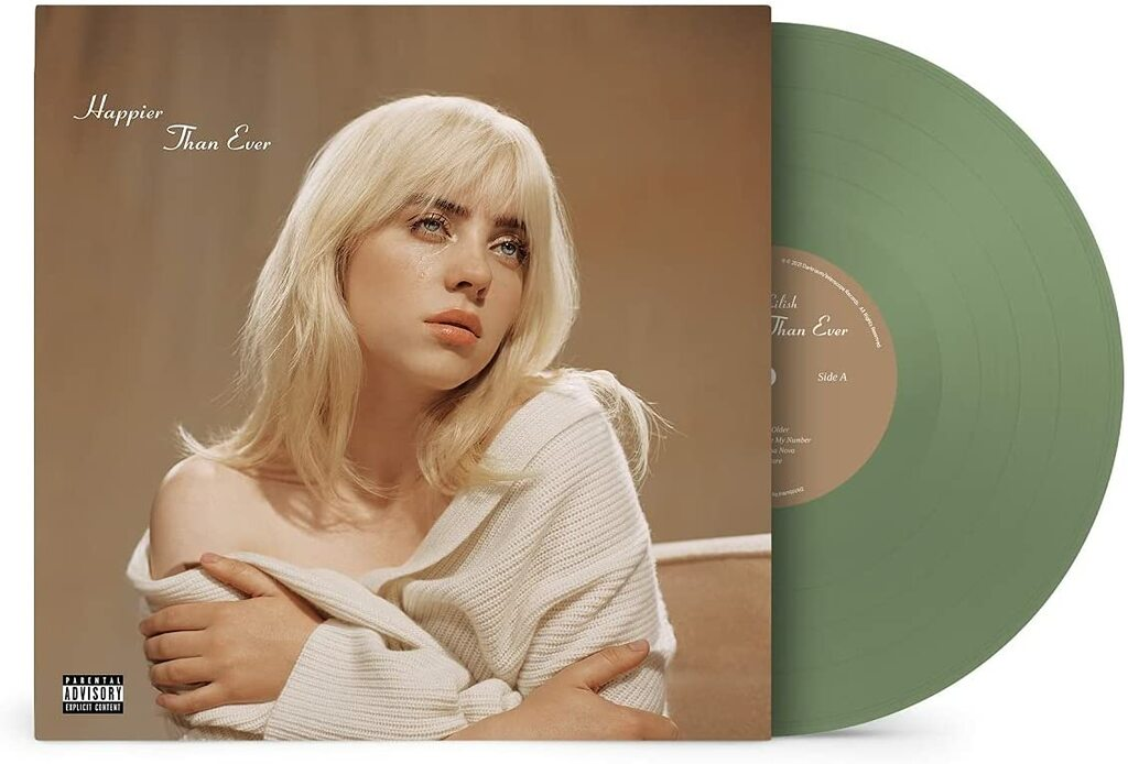 Billie Eilish - Happier Than Ever (2 LP - Colored Vinyl)