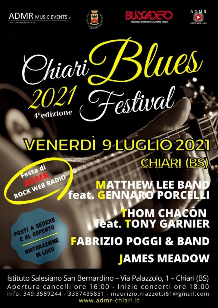 Chiari Blues Festival 2021 - 4a edizione