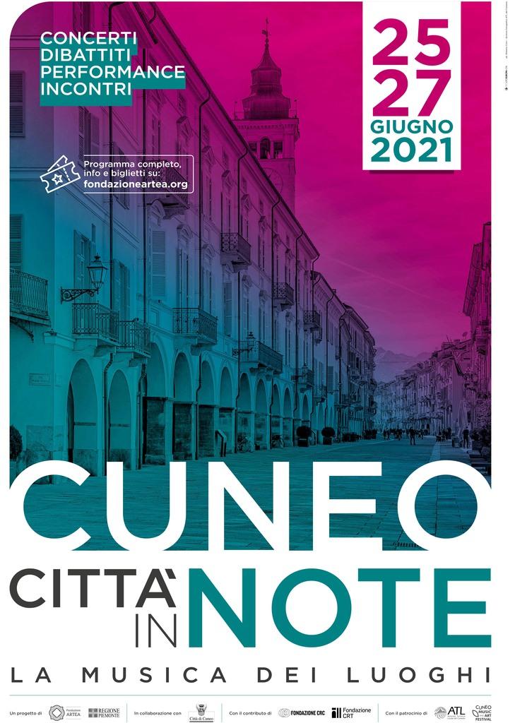 La musica dei luoghi di Cuneo