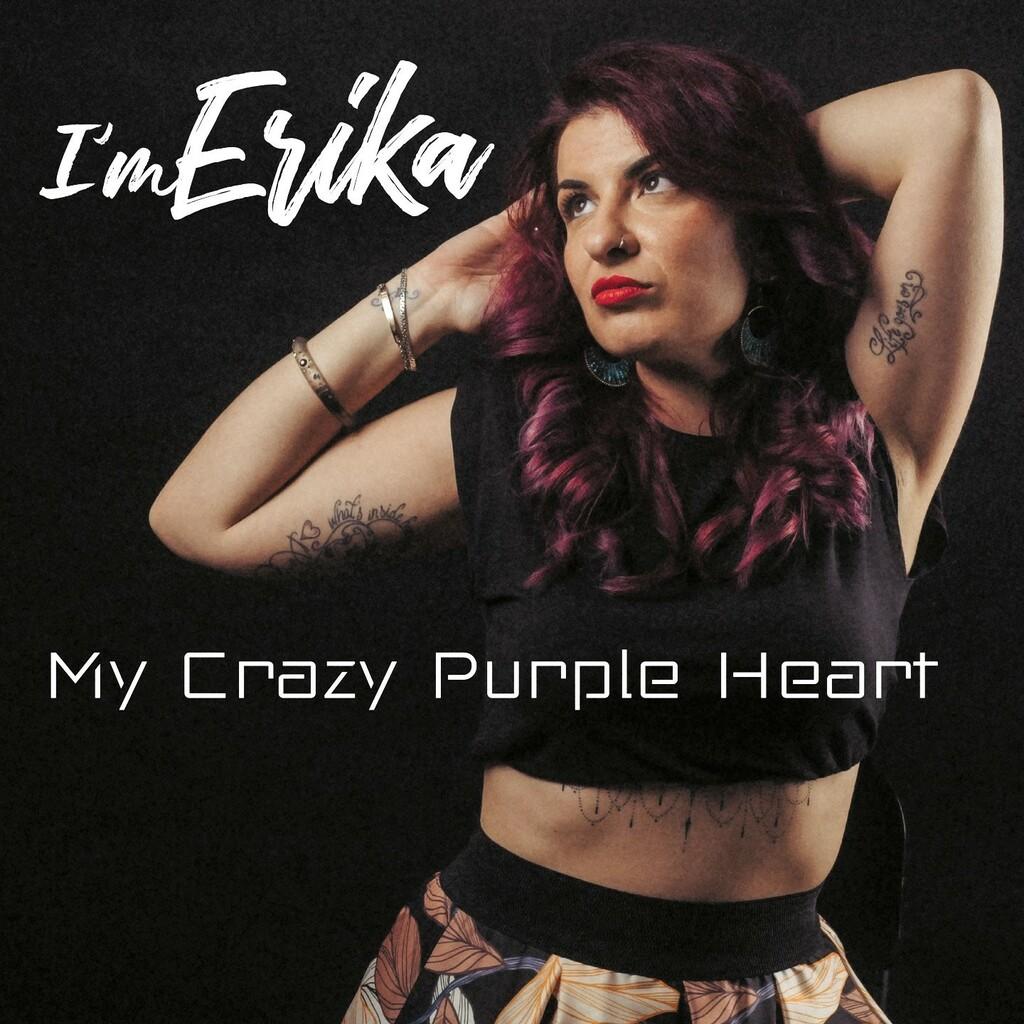 """""""My crazy purple heart"""" il nuovo singolo di I'm Erika"""