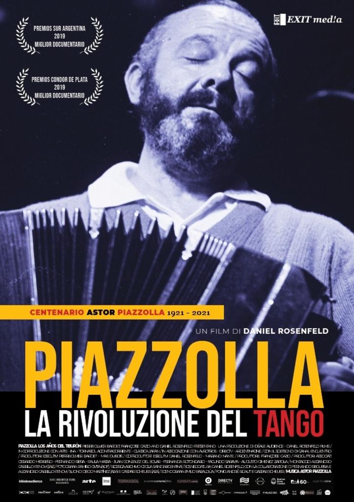 """""""Piazzolla. La rivoluzione del tango"""" di Daniel Rosenfeld"""
