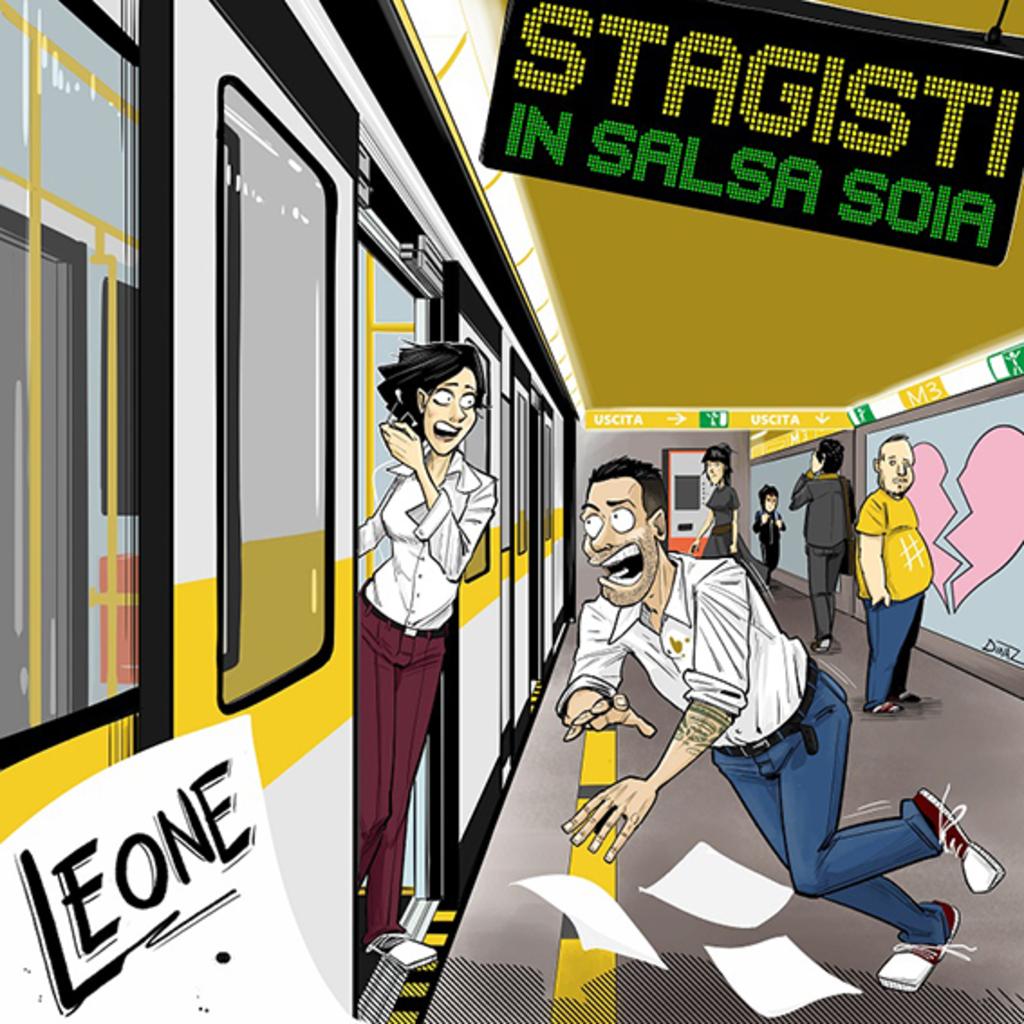 """""""Stagisti in salsa soia"""" il nuovo singolo per l'estate 2021 di Leone"""